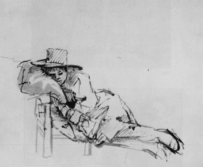 Спящий юноша. 1655–1656