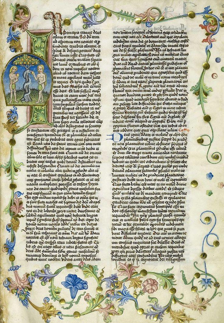 Страница из книги Иосифа Флавия «Иудейские древности». 1466