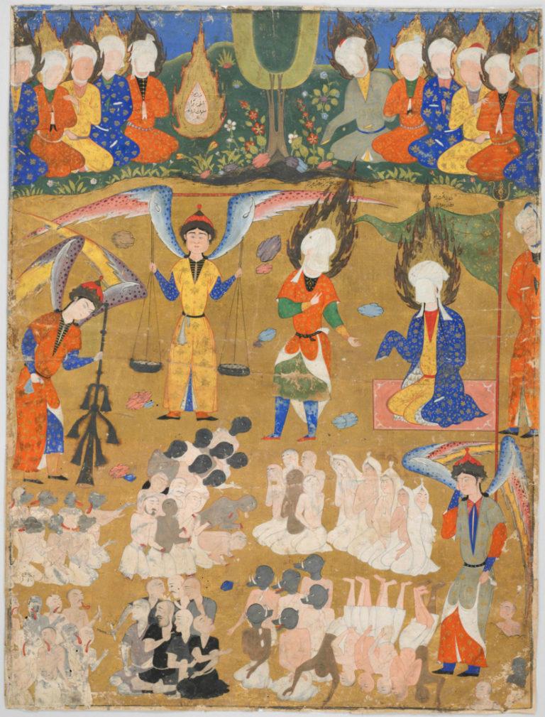 Судный день. Персия, 1555
