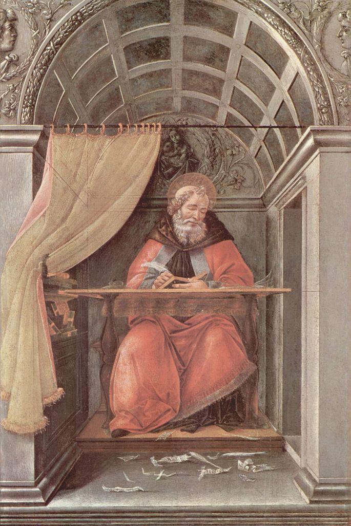Св. Августин. Ок. 1495