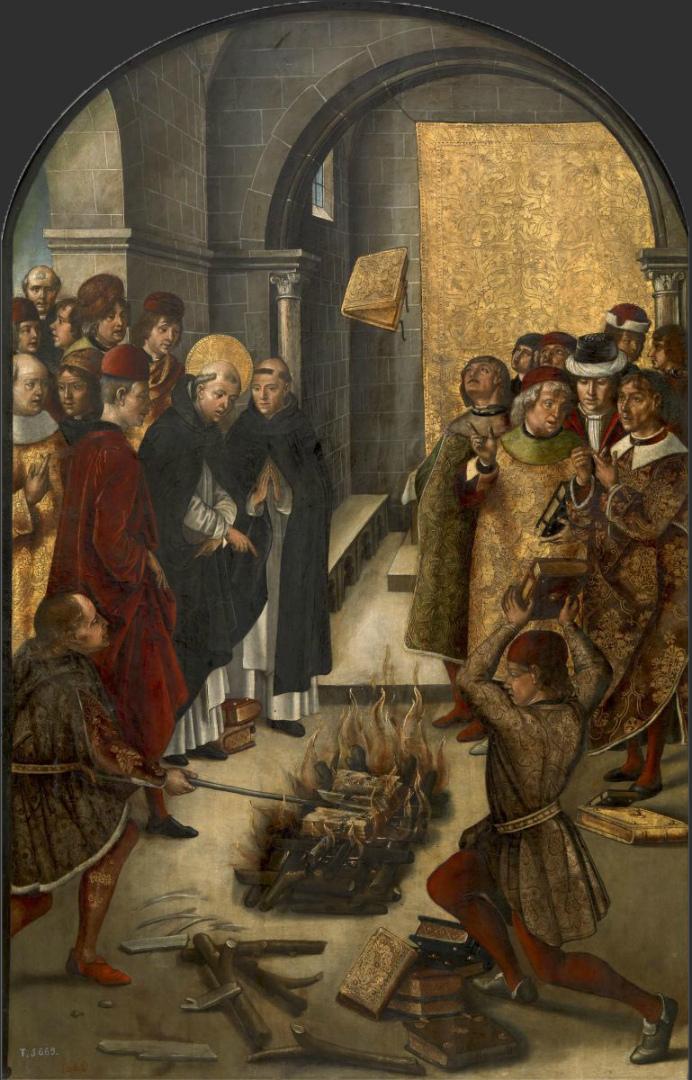Св. Доминик и альбигойцы. 1490-е