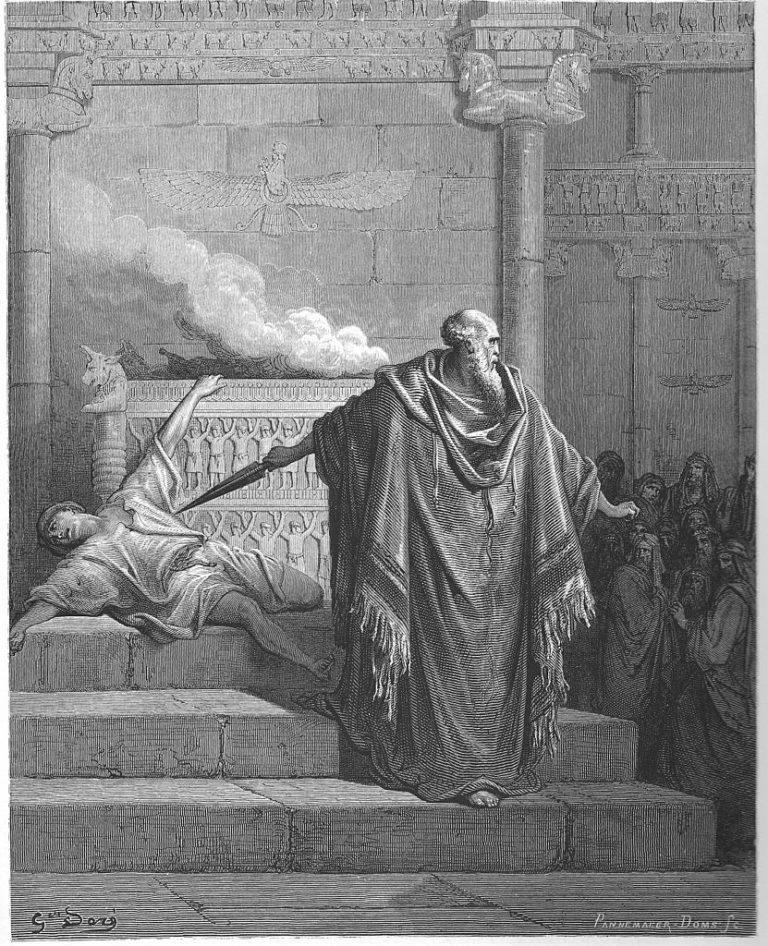 Священник Маттафия убивает отступника. 1866