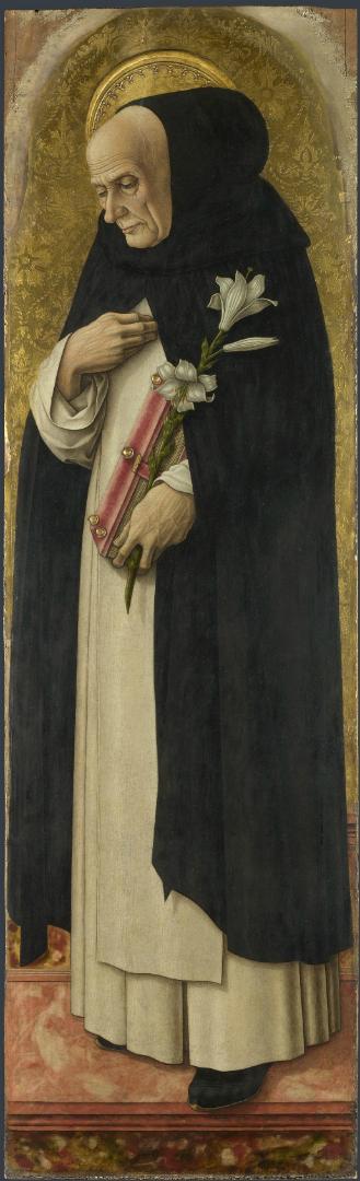 Святой Доминик. Фрагмент алтаря Сан Доменико в Асколи