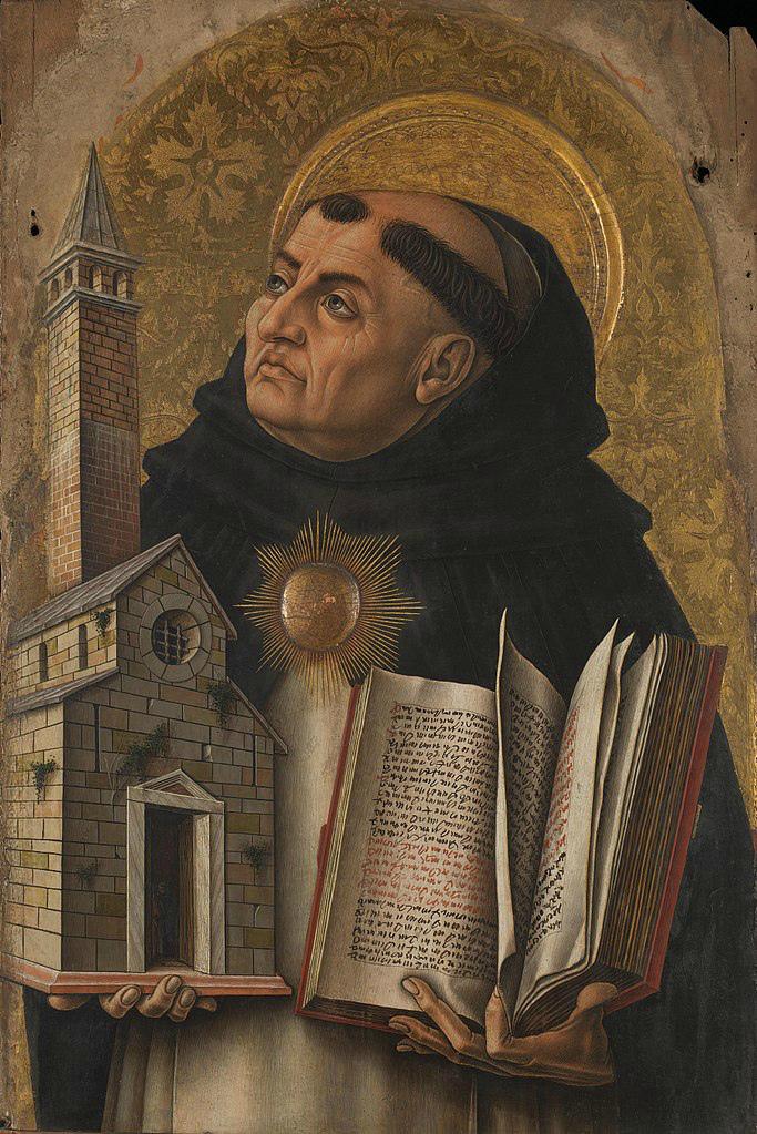 Святой Фома Аквинский. 1476