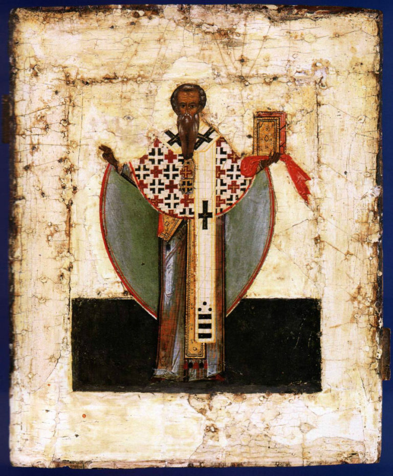 Святой Иаков. Новгородская икона, XVI в.