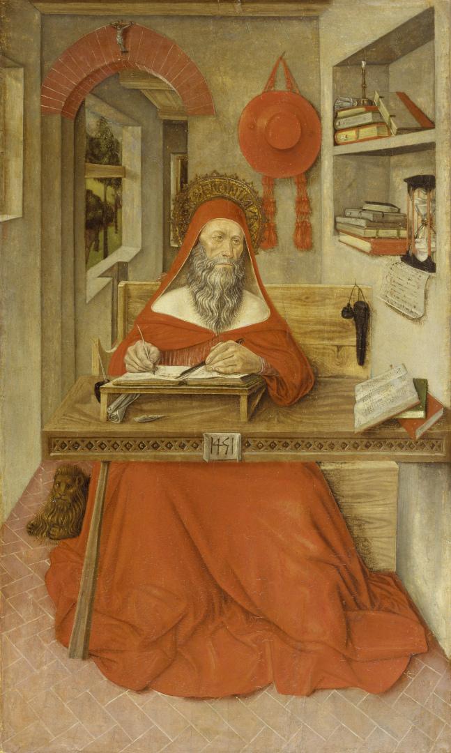 Святой Иероним в своем кабинете. 1451