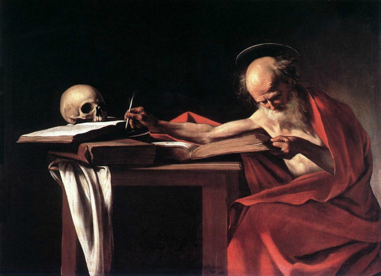 Святой Иероним. 1606