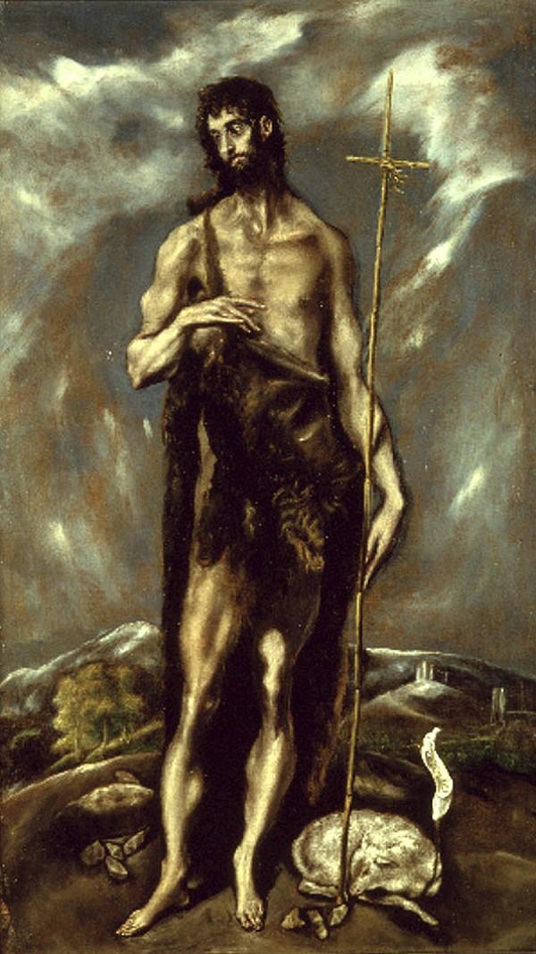 Святой Иоанн Креститель. Ок. 1600–1605