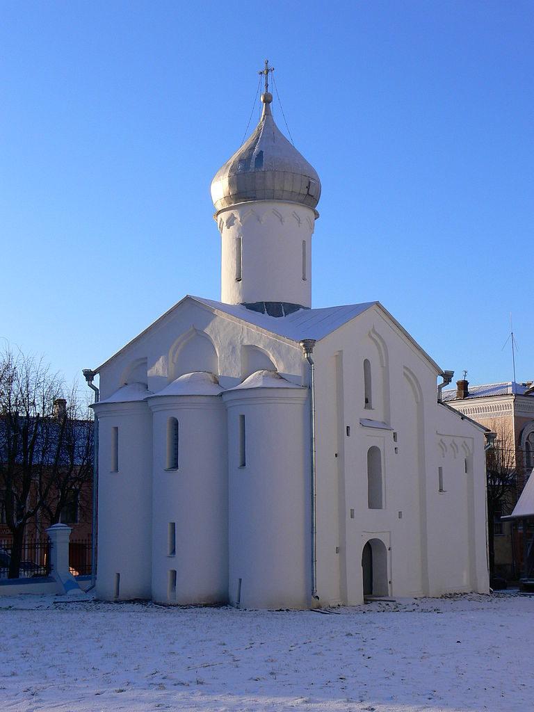 Церковь св. Прокопия на Дворище. Вид с северо-востока. 1529
