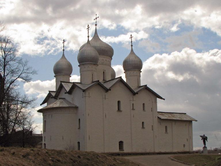 Церковь свв. Бориса и Глеба в Плотниках. Вид с северо-востока. 1536