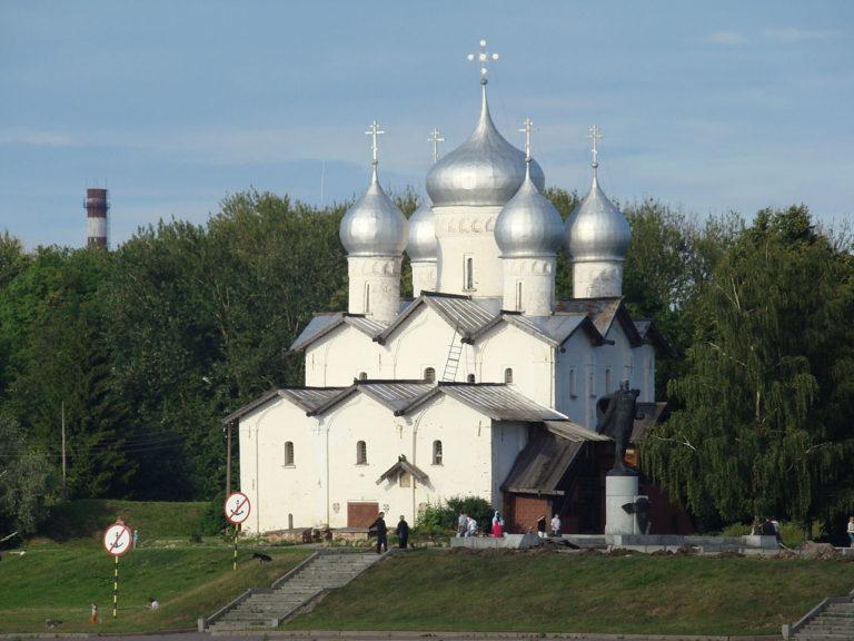 Церковь свв. Бориса и Глеба в Плотниках. Вид с юго-запада. 1536