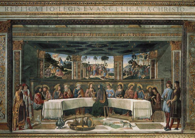 Тайная вечеря. 1481–1482