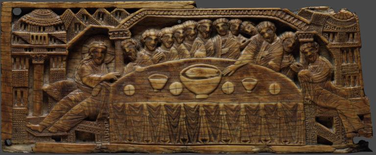 Тайная вечеря. Италия, 1100