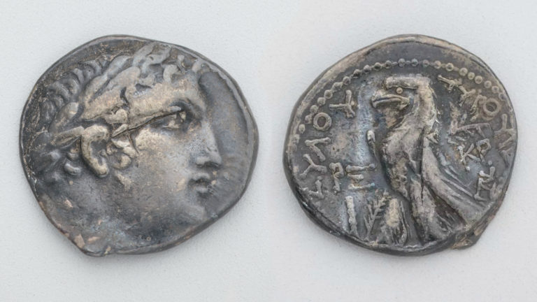 Тирский шекель. 34–35 г. н. э.