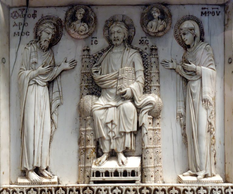 Триптих Арбавиля. Фрагмент. Центральная часть. X в.