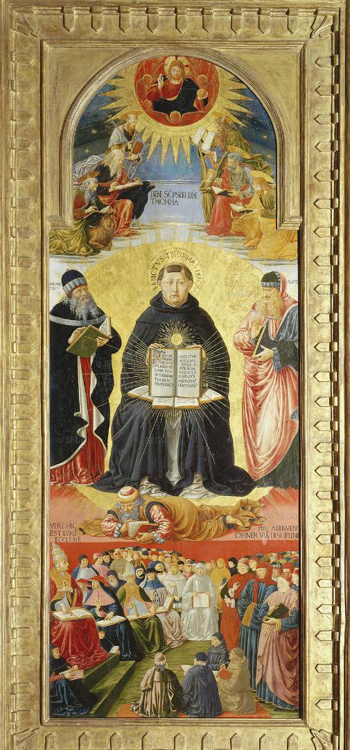 Триумф Фомы Аквинского. 1470–1475