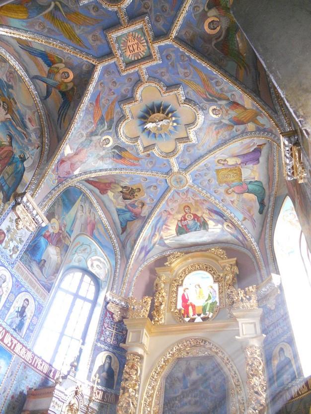 Троицкая церковь. Интерьер. 1520-е
