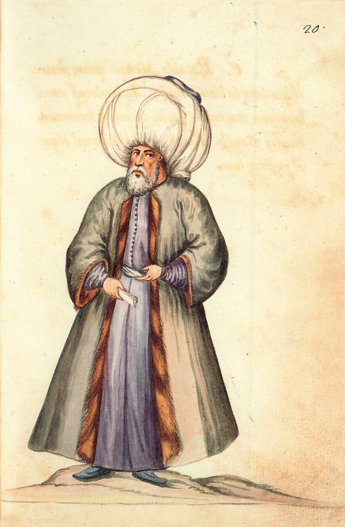 Турецкий муфтий (высшее духовное лицо у мусульман, наделённое правом выносить решения по религиозно-юридическим вопросам). Испания, XVII в.