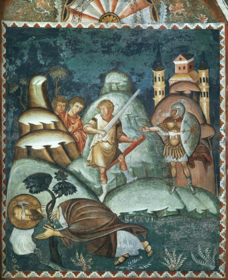 Усекновение главы ап. Павла. XIII в.