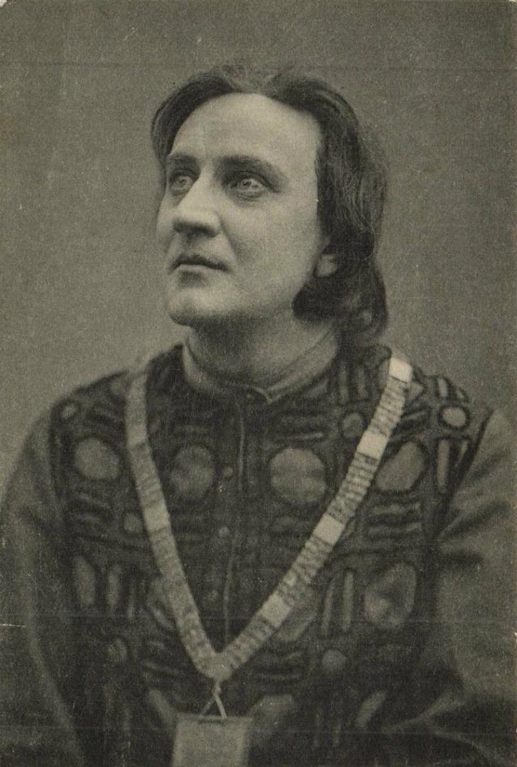В. Качалов в роли Гамлета. Спектакль «Гамлет». 1911