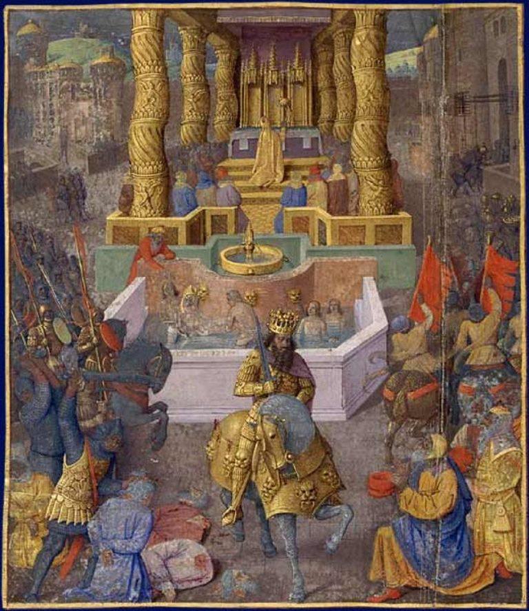 Вхождение Ирода Великого в Иерусалим. 1470-е