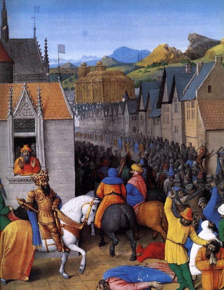 Вхождение Птолемея I Сотера в Иерусалим. 1470-е