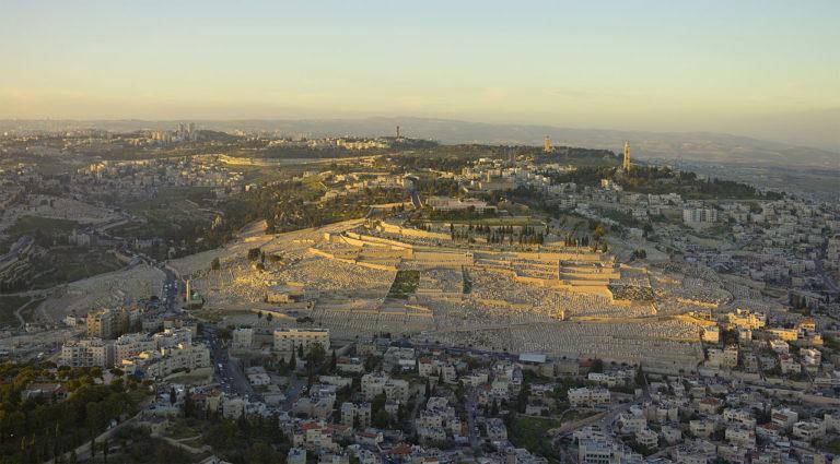 Вид на Елеонскую гору, Иерусалим