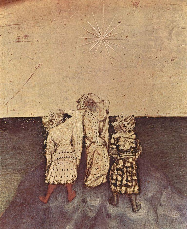 Вифлеемская звезда. Фрагмент полиптиха «Поклонение волхвов». 1423