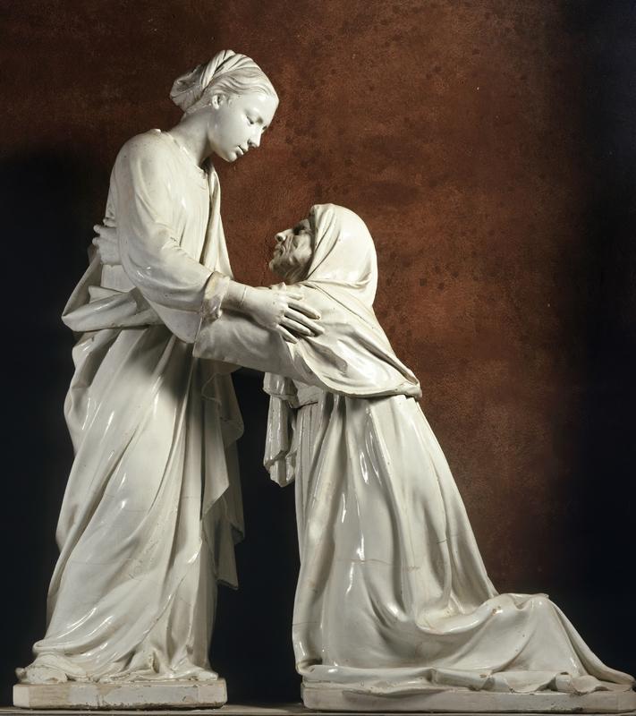 Встреча Девы Марии и Елизаветы. Ок. 1445