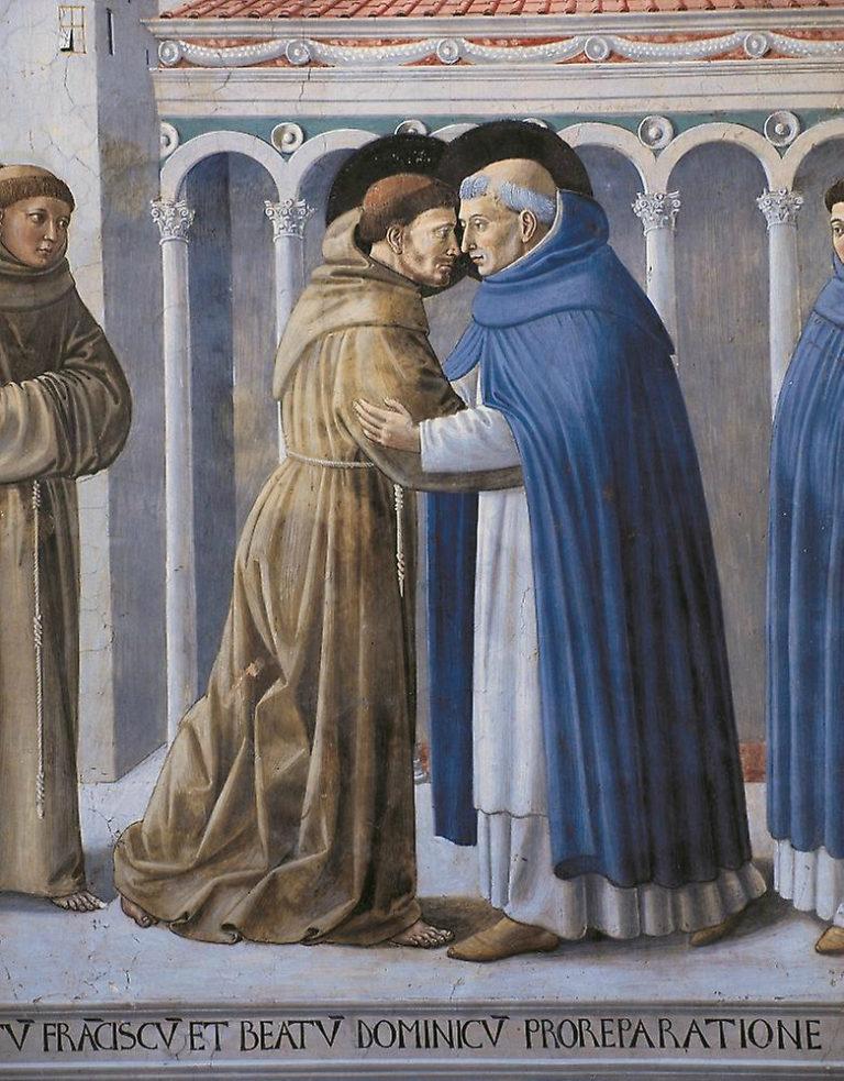 Встреча Франциска и Доминика. 1452