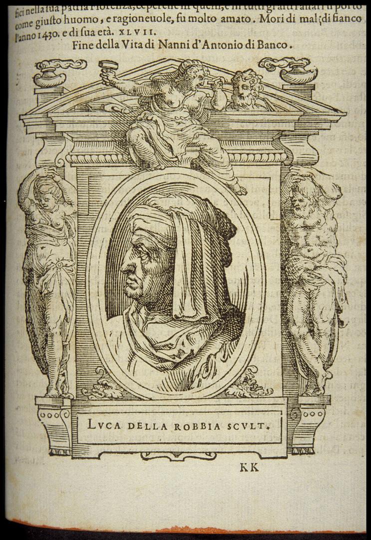 Вымышленный портрет Луки делла Роббиа