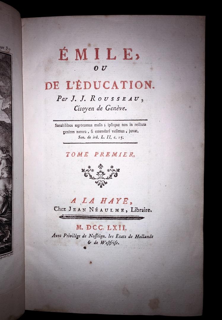 Ж.-Ж. Руссо. Эмиль, или О воспитании. 1762