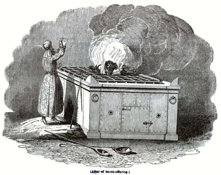 Жертва всесожжения в Иерусалимском Храме