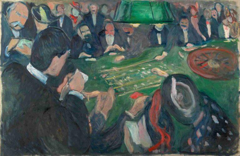 За рулеткой. 1892