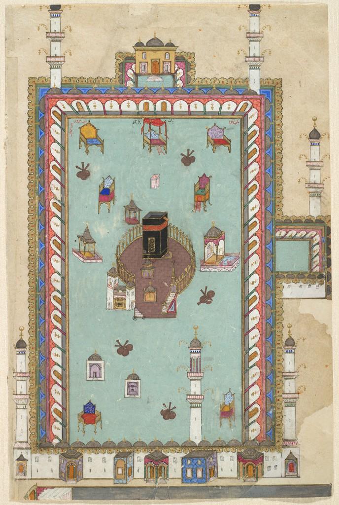 Заповедная мечеть в Мекке. 1582