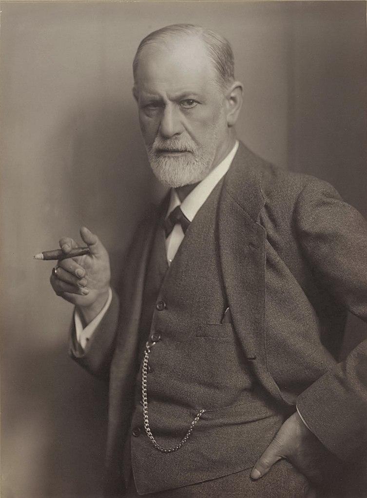 Зигмунд Фрейд (нем. Sigmund Freud, 1856–1939). 1922