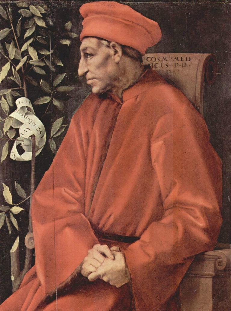 Козимо Медичи Старший (итал. Cosimo de' Medici il Vecchio, 1389–1464). 1518–1520