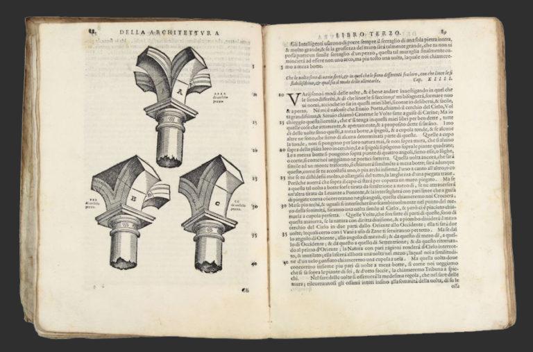 Леон Баттиста Альберти. Об архитектуре. Венеция, 1565