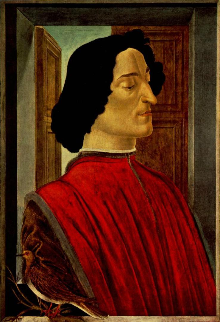 Портрет Джулиано Медичи. 1478–1480