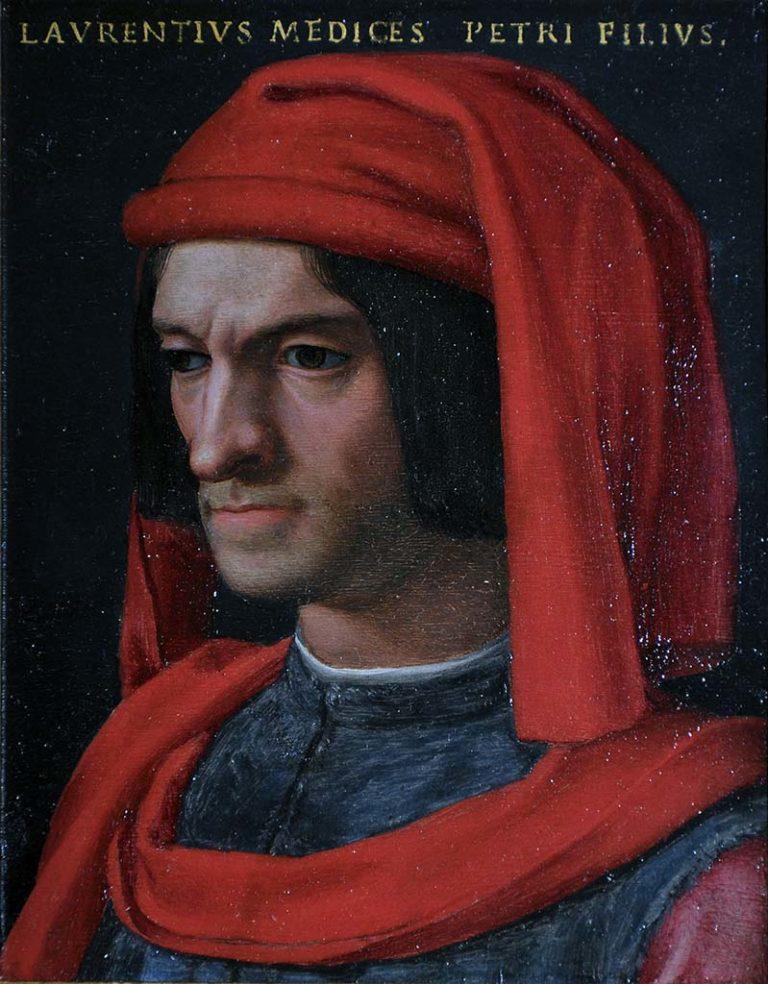 Портрет Лоренцо Медичи. 1555–1565