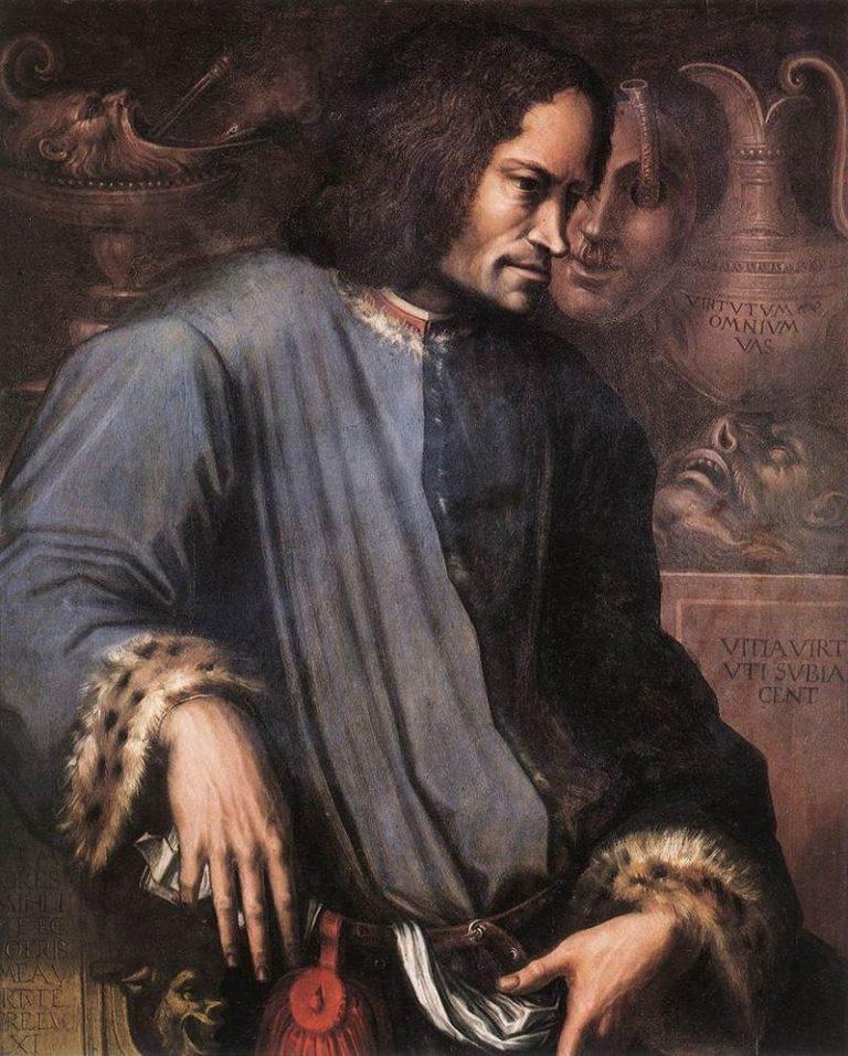 Портрет Лоренцо Медичи. Ок. 1533