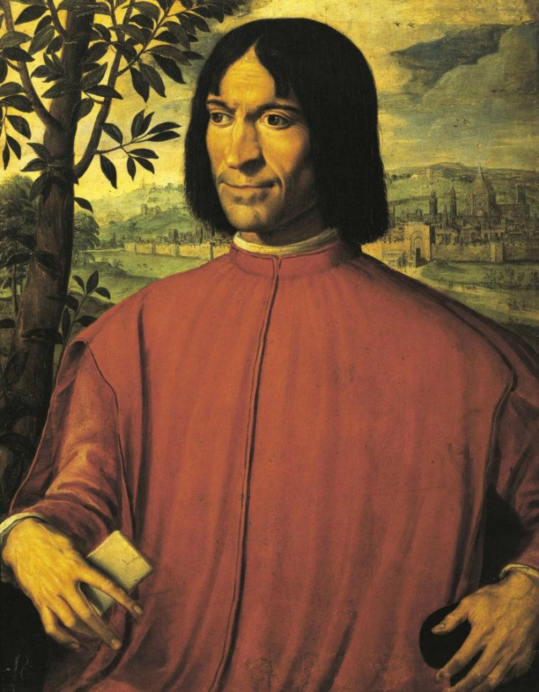 Портрет Лоренцо Медичи. XVI в.