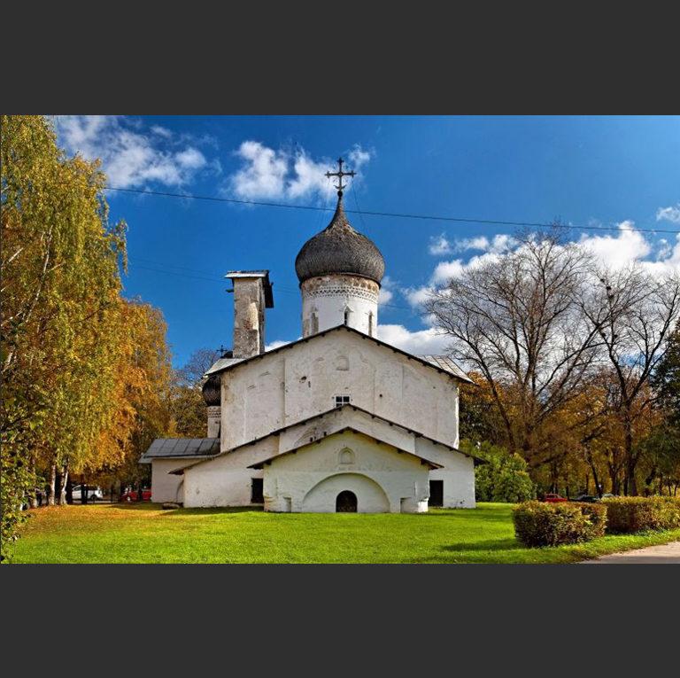 Церковь Николы со Усохи. 1534–1535