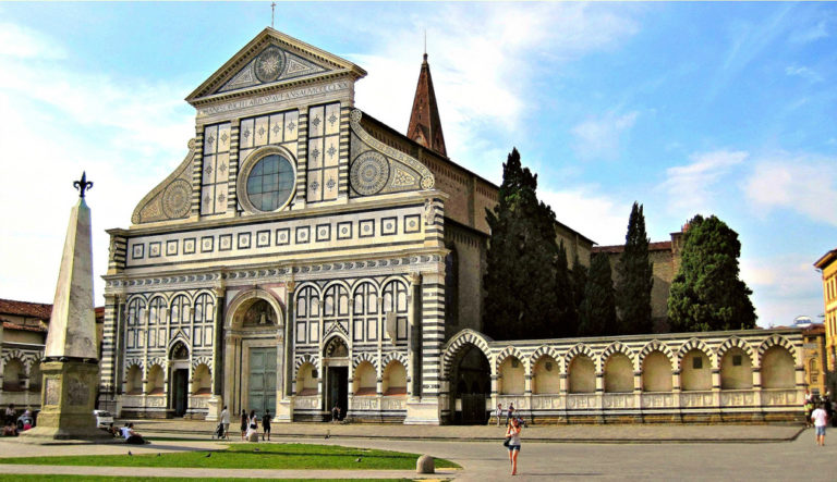 Церковь Санта Мария Новелла. 1456–1470