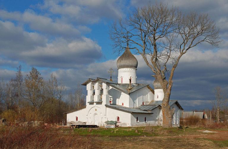 Троицкая церковь. Вид с юго-запада. Предположительно 1558