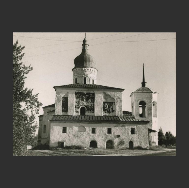 Трёхсвятительский собор Спасо-Елеазарова монастыря. 1560-е