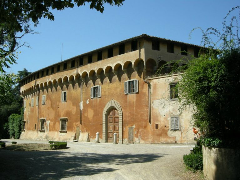 Вилла Козимо Медичи в Кареджи, где расположилась «Платоновская академия» флорентийских гуманистов