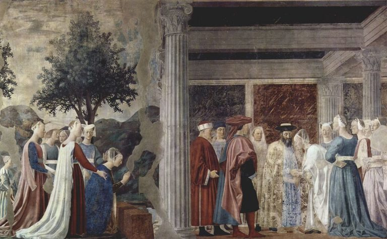 История царицы Савской. 1452–1466