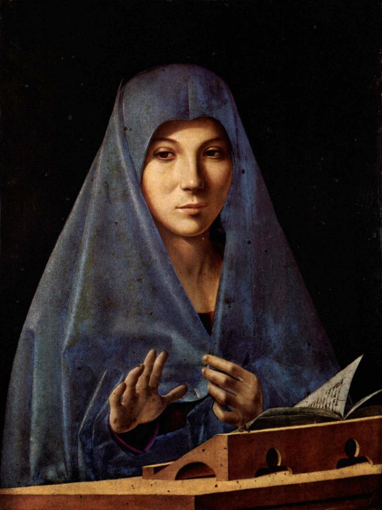 Мария Аннунциата. Ок. 1476
