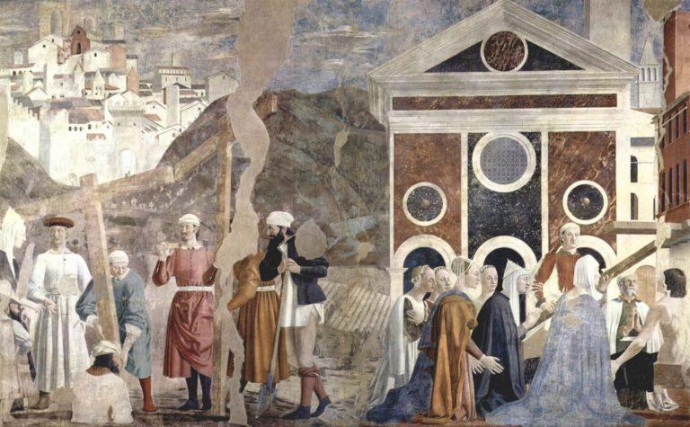 Обретение и испытание Животворящего Креста. 1452–1466